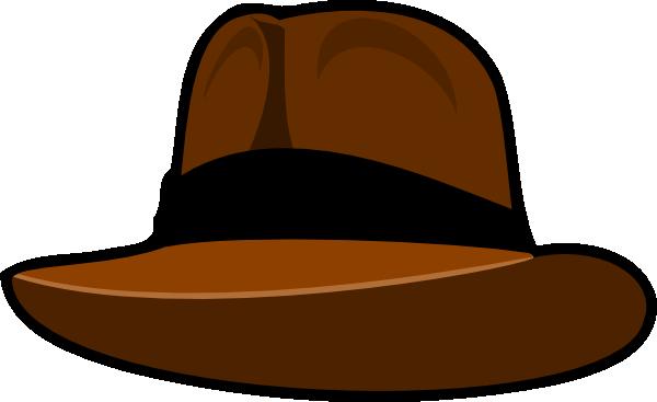Adventurer hat at clker. Fedora clipart clip art