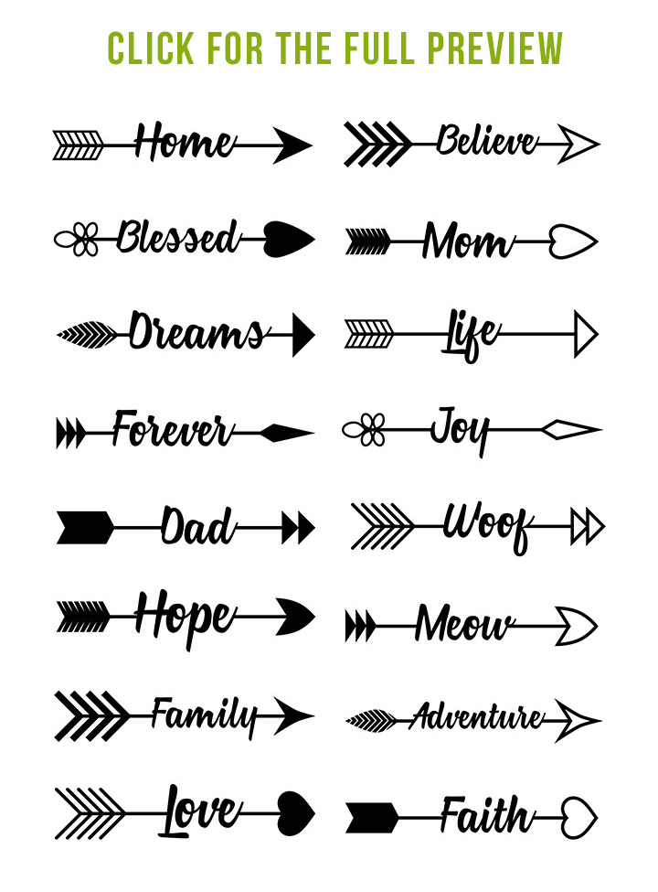 Arrows clipart adventure.  mega bundle tribal