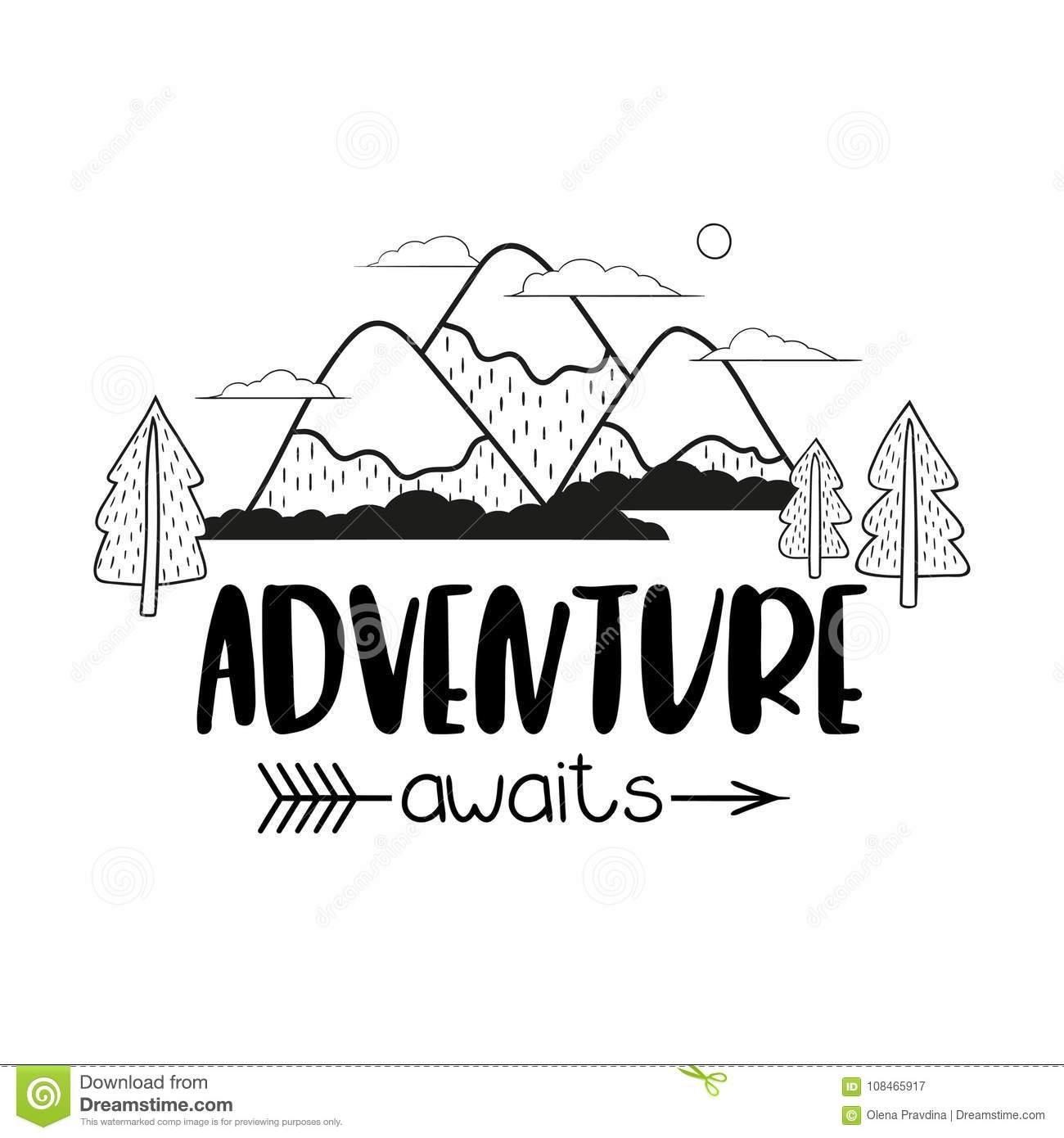 Portal . Adventure clipart black and white