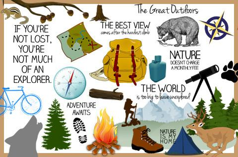 Discovery center store great. Outdoors clipart