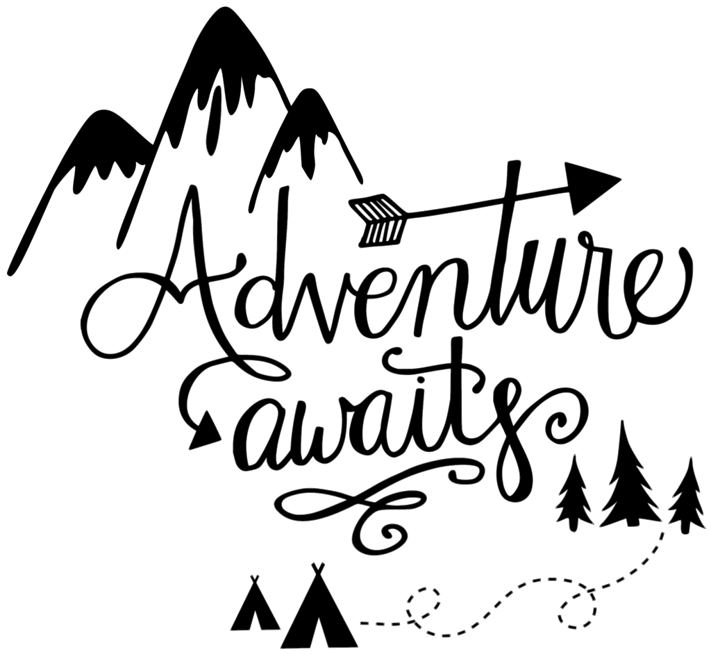 Awaits svg images gallery. Adventure clipart line art