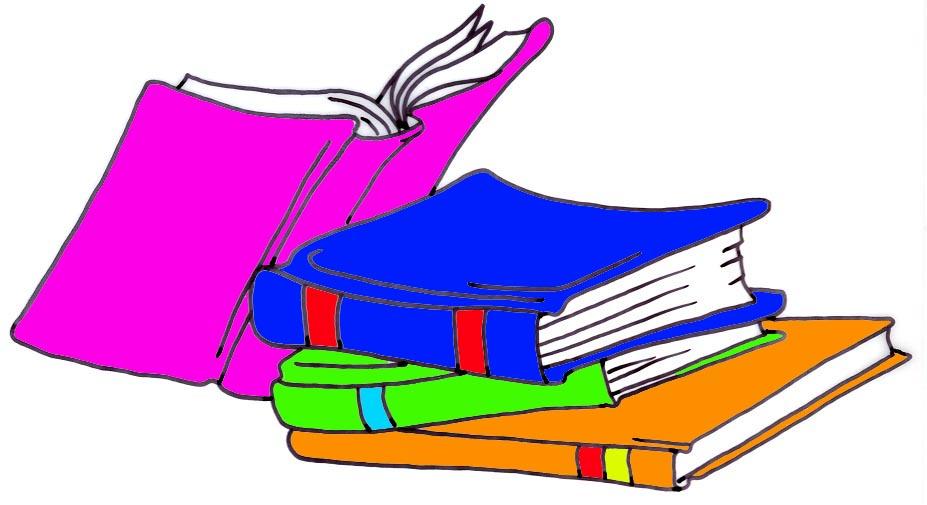 Reading clip art clipartix. Textbook clipart librarian