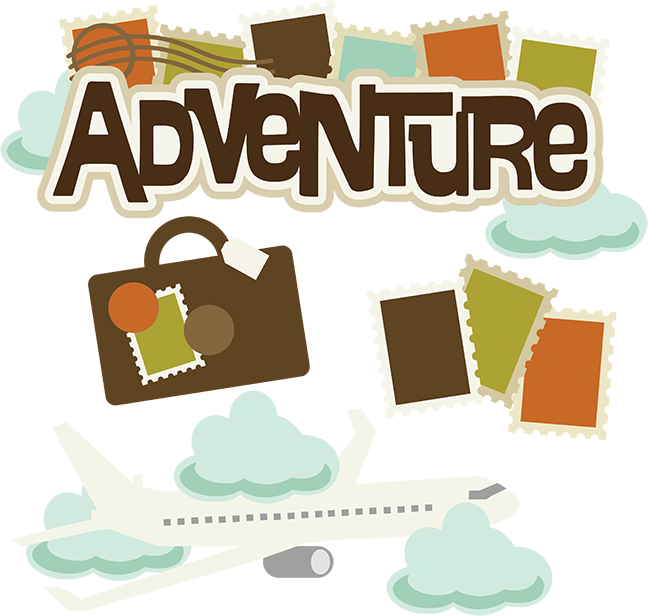 Adventure svg airplane vacation. Luggage clipart scrapbook