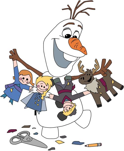 Olaf clipart holding. Frozen clip art disney