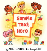 Vector template for ready. Advertising clipart brochure