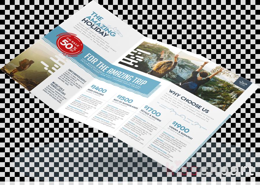 Advertising clipart brochure. Travel flyer