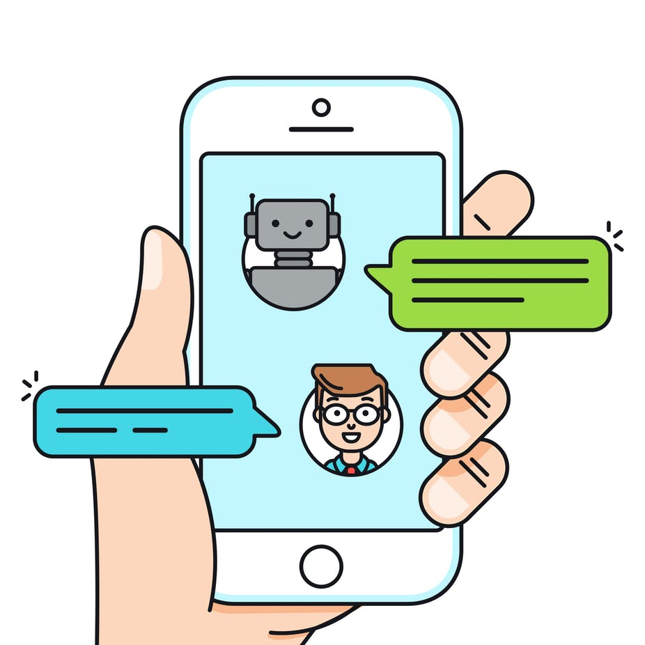 Embracing the bots how. Advertising clipart consumer product