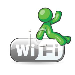 A man wireless royalty. Advertising clipart internet
