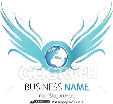 Advertising clipart internet. Vector art company logo