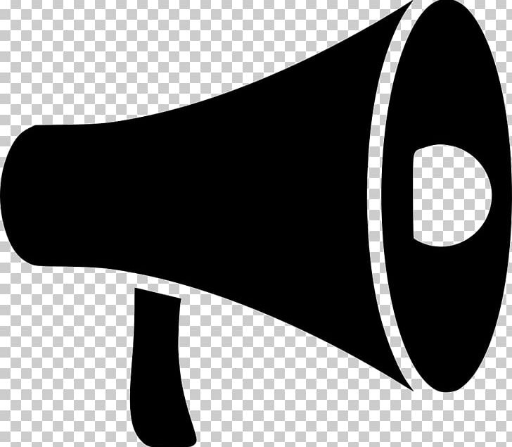Computer icons png black. Advertising clipart megaphone