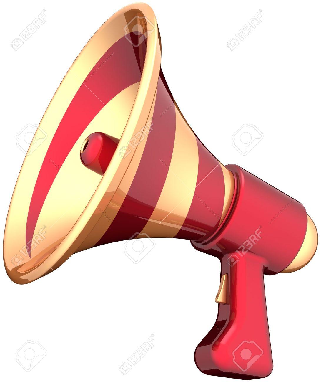 Advertising clipart megaphone. Notice public announcement pencil