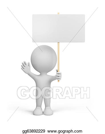 Advertising clipart person. Drawing d with gg