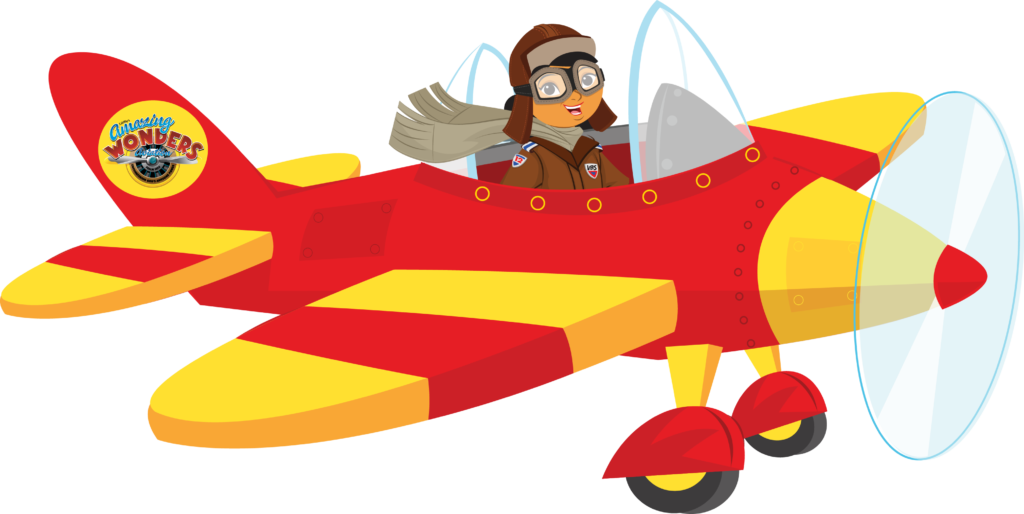 Biplane clipart cartoon.  airplanes with banner