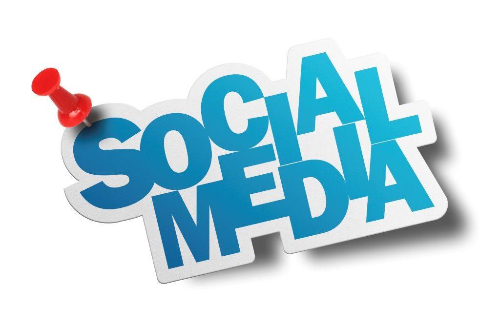 Social ads drive awareness. Advertising clipart print media