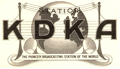 Advertising clipart radio broadcasting.  first commercial station