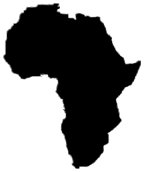 Africa clipart. Silhouette clip art at