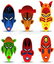 Afro clip art gallery. African clipart african mask