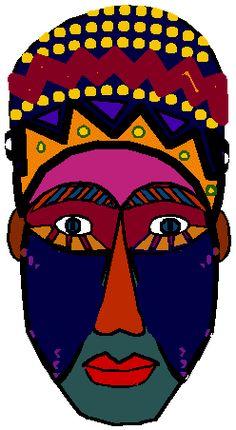 African clipart african mask. Art pinterest masks masking