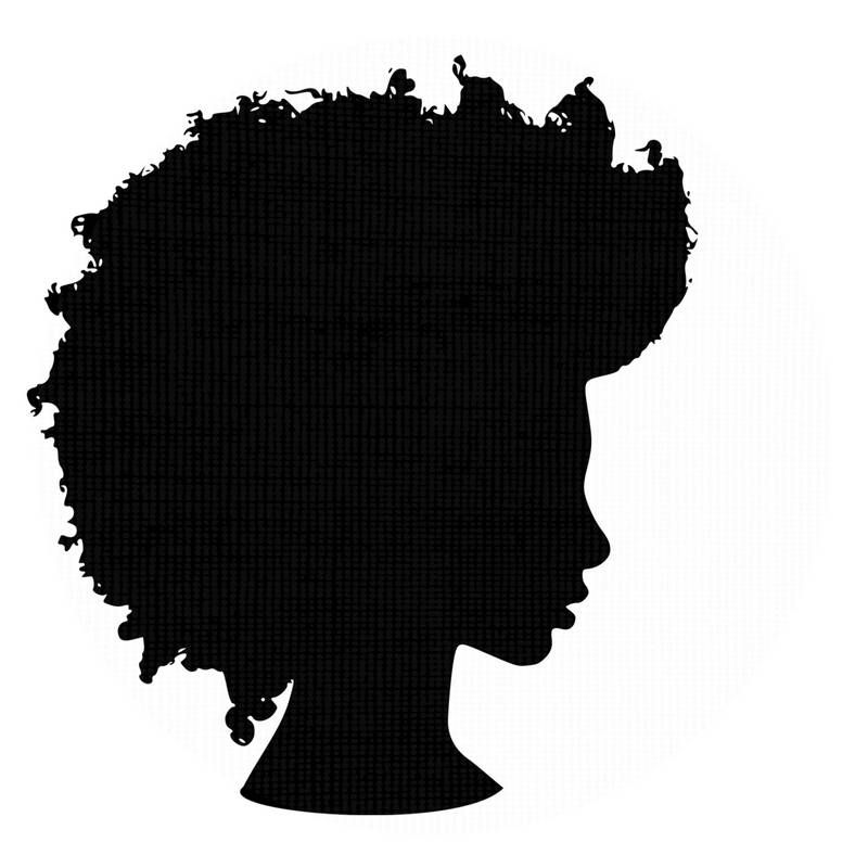 Silhouette svg clip art. Africa clipart afro