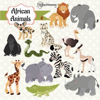 africa clipart animal