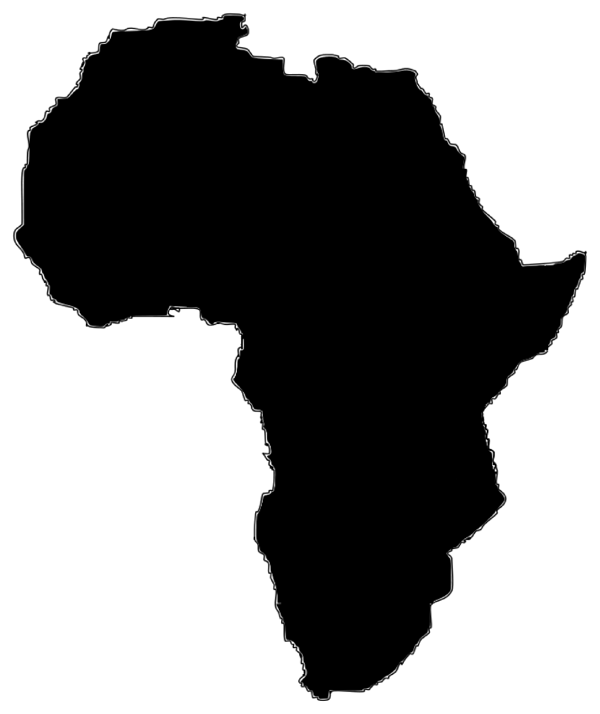 Best HD African Clip Art Drawing