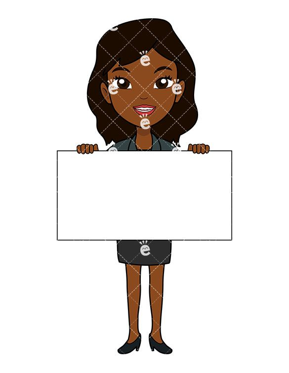 Businesswoman clipart african american. Pin on black