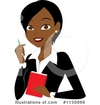Illustration by rosie piter. Africa clipart businesswoman