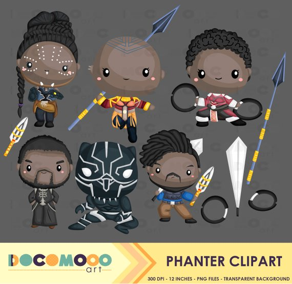 Panther superhero clip art. Africa clipart cartoon