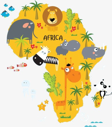 Cartoon African Zoo