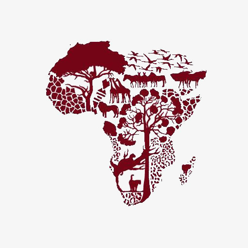 Africa clipart creative. Map of african deductible