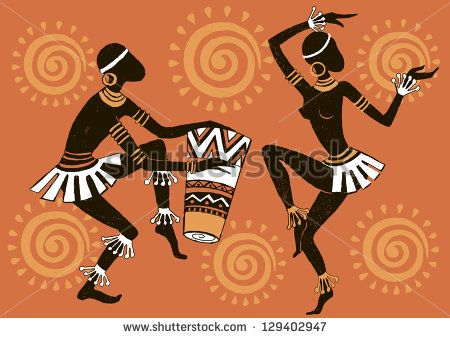 African clipart abstract. Dance refers mainly to