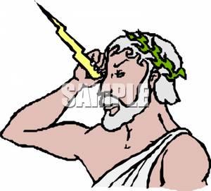 Zeus the god of. Africa clipart gods