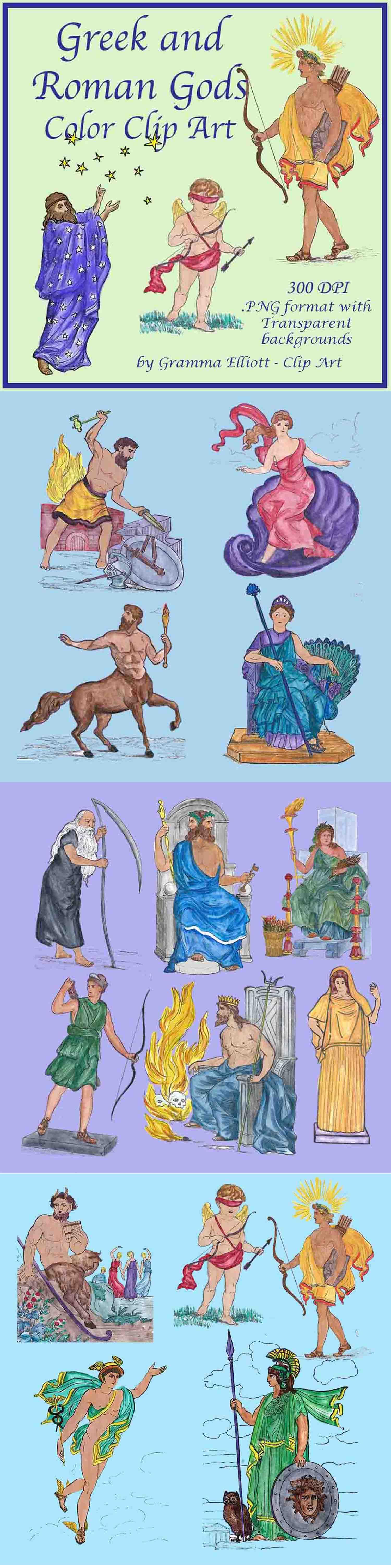 Africa clipart gods. Greek and roman mythology