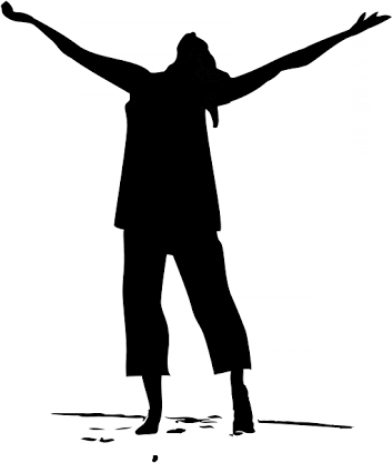 Image result for women. God clipart worshiping