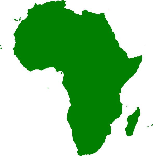 Clipart map continent. Montessori africa clip art