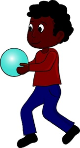 Boy playing image an. Bowling clipart child