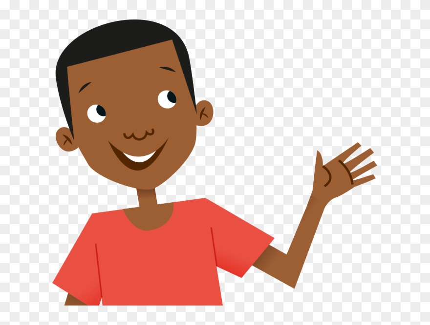 African clipart kid african. Country child waving hello