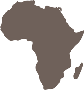 africa clipart map