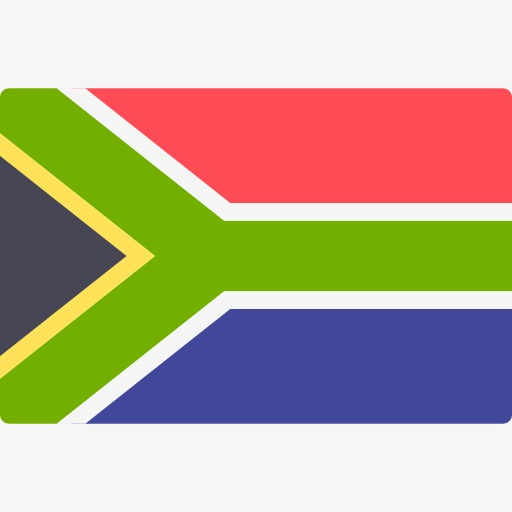 Africa clipart nation. South african flag banner
