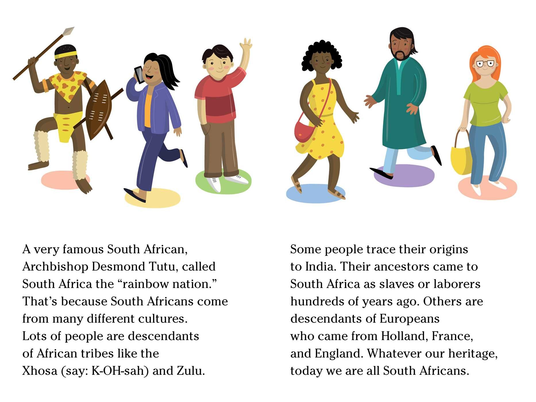 Living in south book. Africa clipart nation