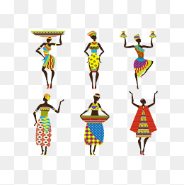 Africa clipart nation. African woman png vectors
