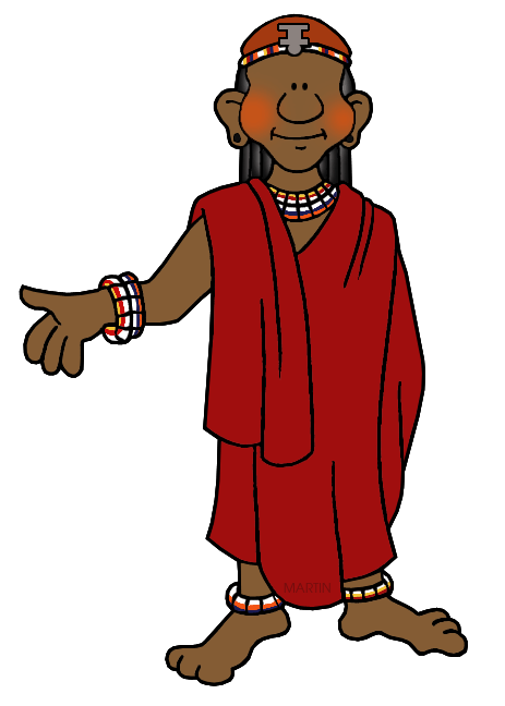 African clipart man african. Africa clip art by