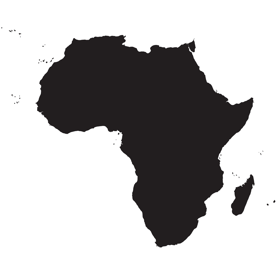 Africa all in one. African clipart logo