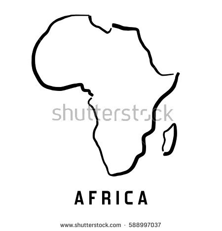 Africa Clipart simple