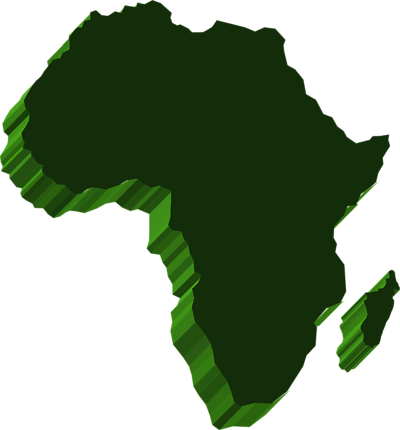 D . Africa clipart transparent
