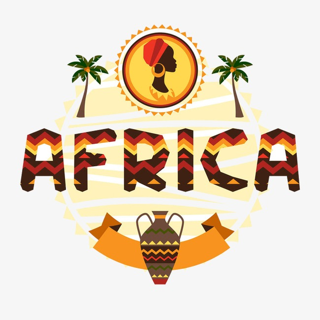 African clipart symbol. Africa color icon culture