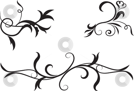 African clipart abstract. Black and white design