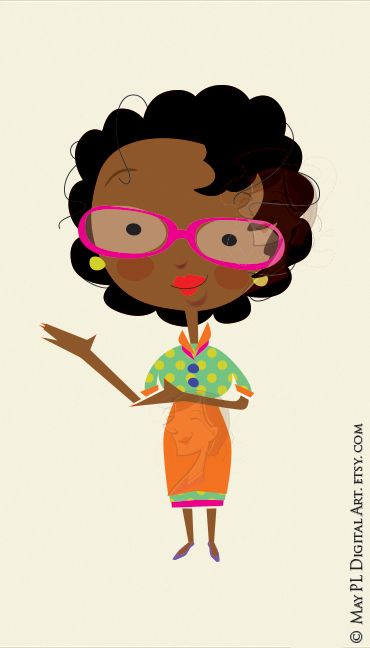 Woman great as a. African clipart african american