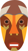African clipart african mask. Search results for clip