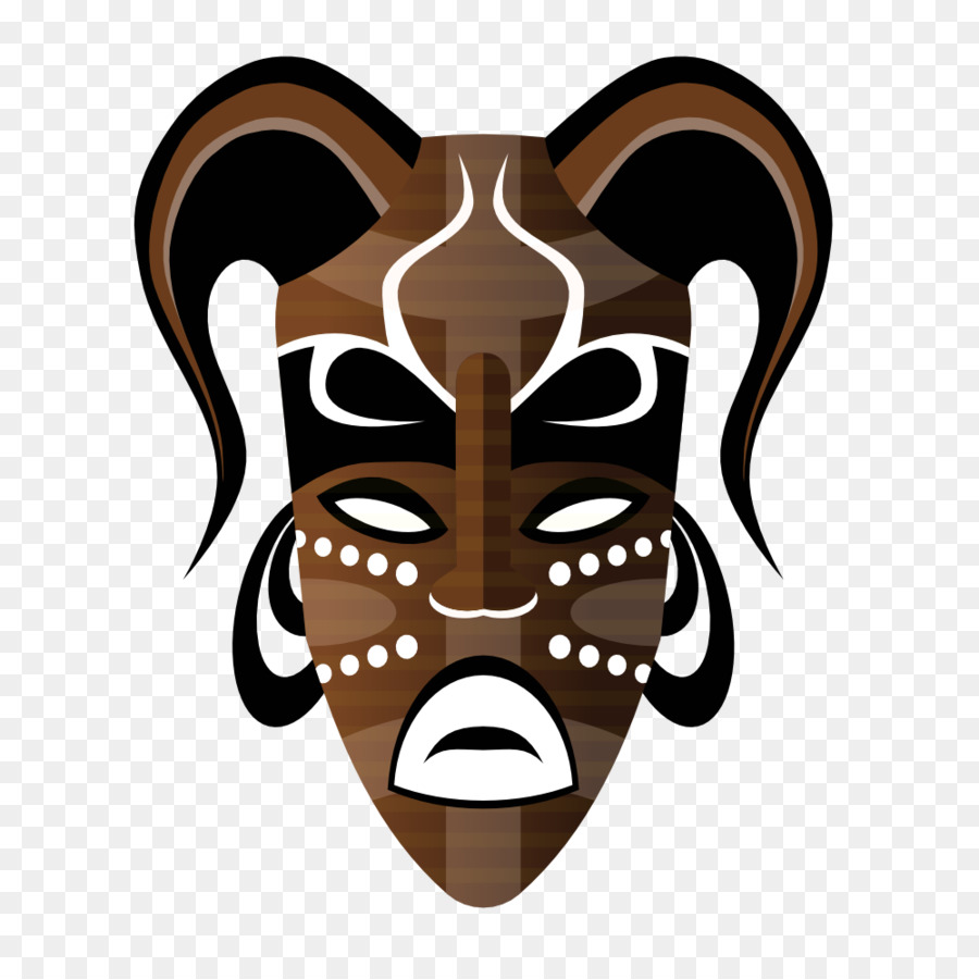 Traditional masks clip art. African clipart african mask